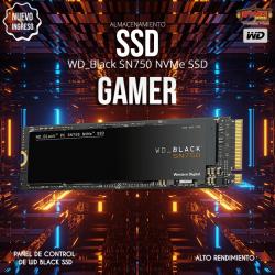 WD Black SN750 NVMe Interno...