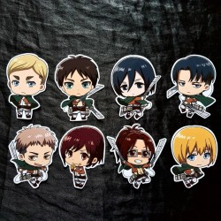 Set Stickers Shingeki No...
