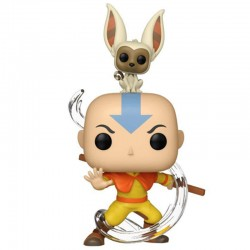 Avatar : Aang with Momo...