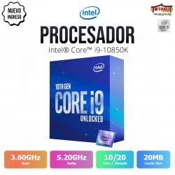 Procesador Intel I9-10850K