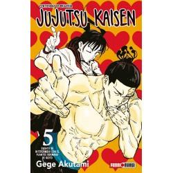 Manga - Jujutsu Kaisen tomo 5