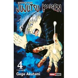 Manga : Jujutsu Kaisen tomo 4
