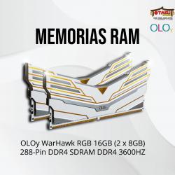 MEMORIAS RAM OLOY WARHAWK...