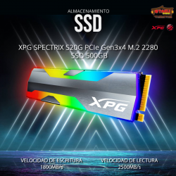 XPG Spectrix S20G Series:...