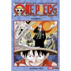 Manga: One Piece tomo 4