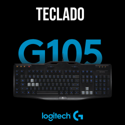 TECLADO G105 PARA GAMING
